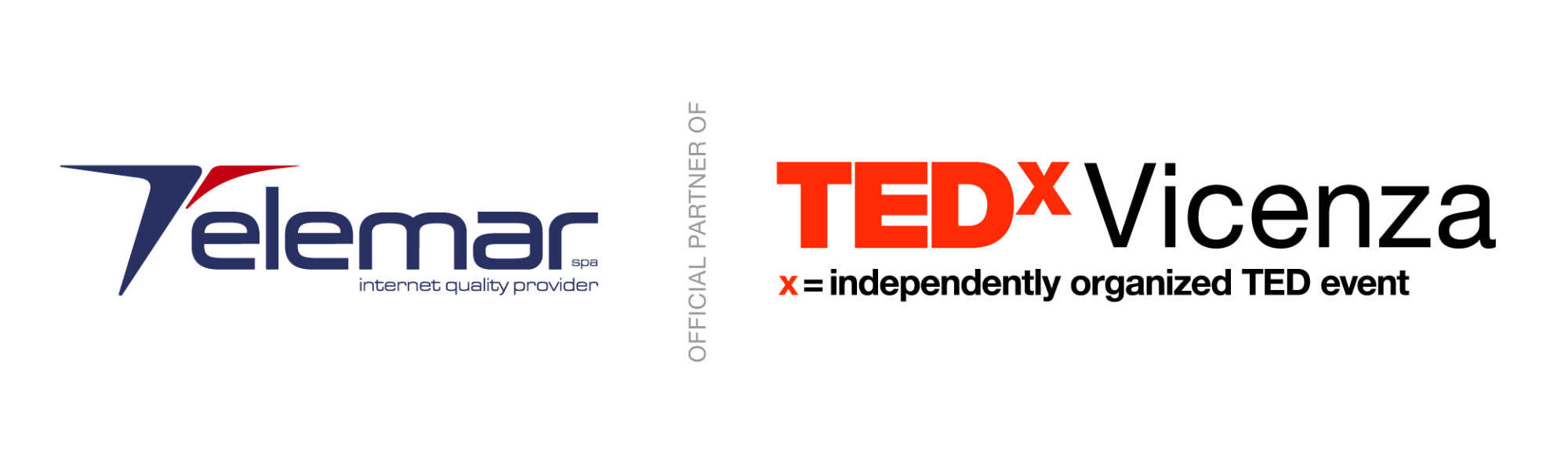 Telemar partner ufficiale di TEDxVicenza TEDX_Telemar_Logo-01_1646_1.png (Art. corrente, Pag. 1, Foto generica)