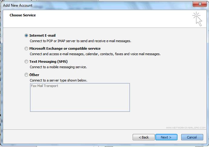 Istruzioni configurazione Outlook 2010 5_127_5.PNG (Art. corrente, Pag. 5, Foto normale)