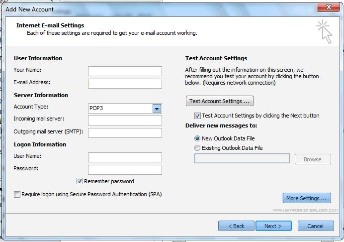 Istruzioni configurazione Outlook 2010 6_127_5.PNG (Art. corrente, Pag. 5, Foto normale)